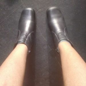 Thom McAn Chunky Ankle Boots